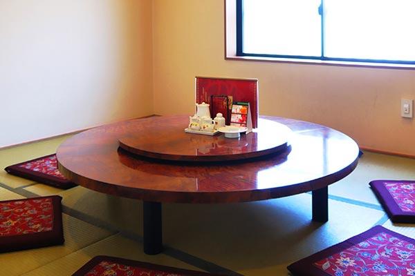 佐世保市 中華料理 牡丹園 2階座敷