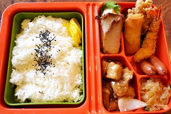 中華弁当(スープ付き)
