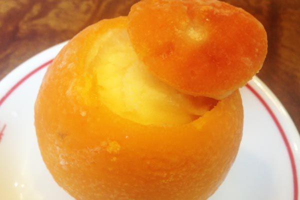 オレンジシャーベット