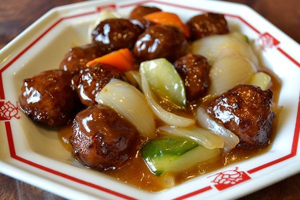 肉団子の甘酢煮
