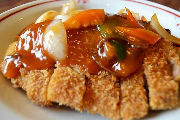 カツ丼(ケチャップ味)